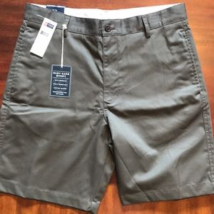 NWT - CHAPS Easy Care, Flat Front Shorts $55